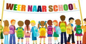 naar school aug 2018